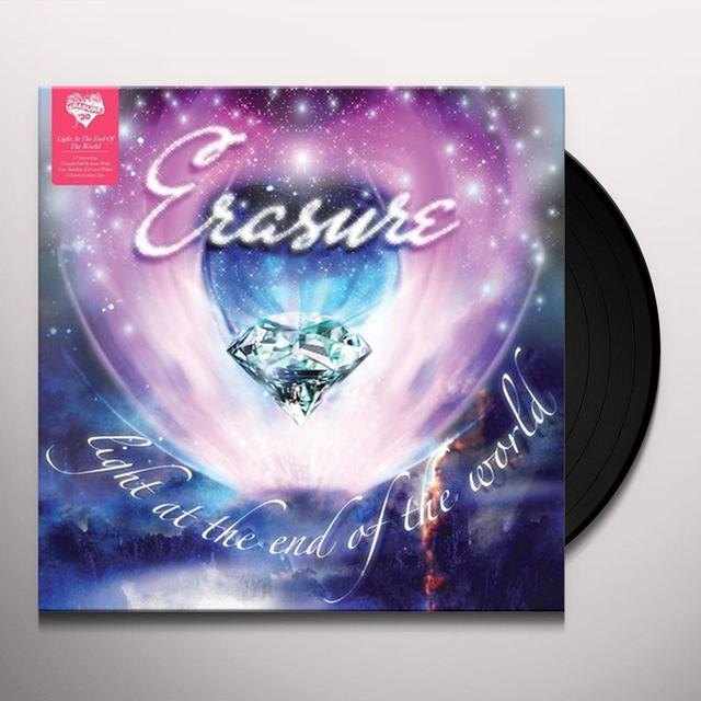 Erasure LIGHT AT THE END OF THE WORLD Vinyl Record - 180 Gram Pressing