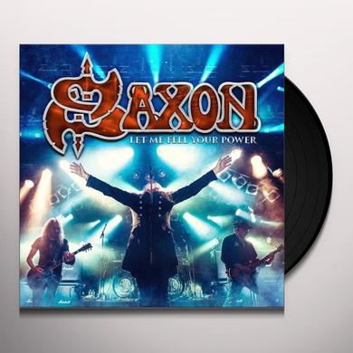 SAXON / LET ME FEEL YOUR POWER  (WBR) Vinyl Record - w/CD
