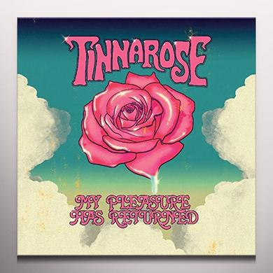 Tinnarose MY PLEASURE HAS RETURNED Vinyl Record - Colored Vinyl
