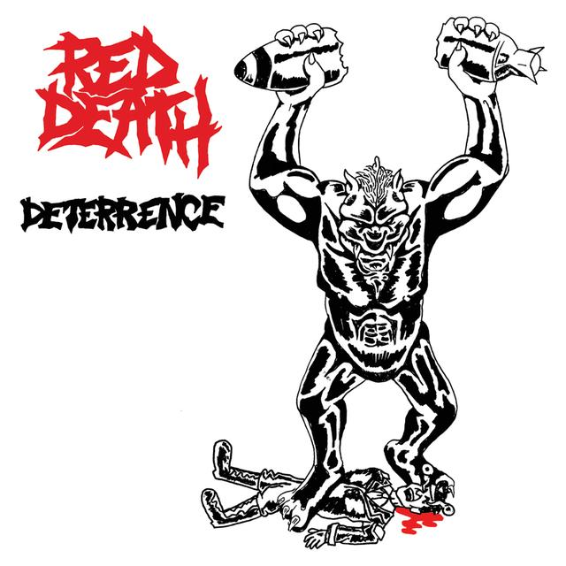 Red Death DETERRENCE Vinyl Record