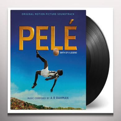 Ar Rahman PELE: BIRTH OF A LEGEND / O.S.T. Vinyl Record - Limited Edition, 180 Gram Pressing, Yellow Vinyl