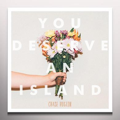 Chase Huglin YOU DESERVE AN ISLAND Vinyl Record - Colored Vinyl, Orange Vinyl, Pink Vinyl, Digital Download Included