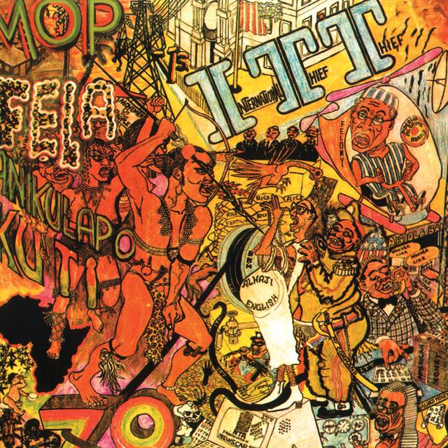 Fela Kuti I.T.T. Vinyl Record - 180 Gram Pressing