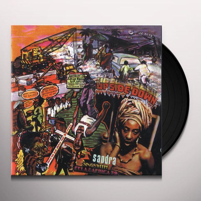 Fela Kuti UPSIDE DOWN Vinyl Record - 180 Gram Pressing