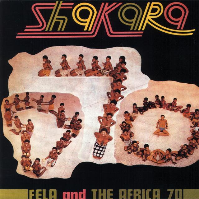 Fela Kuti SHAKARA Vinyl Record - 180 Gram Pressing