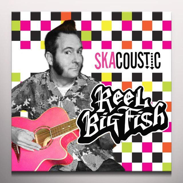 Reel Big Fish SKACOUSTIC Vinyl Record - Blue Vinyl, Colored Vinyl, White Vinyl