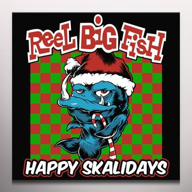 Reel Big Fish HAPPY SKALIDAYS Vinyl Record - Colored Vinyl, Gold Disc