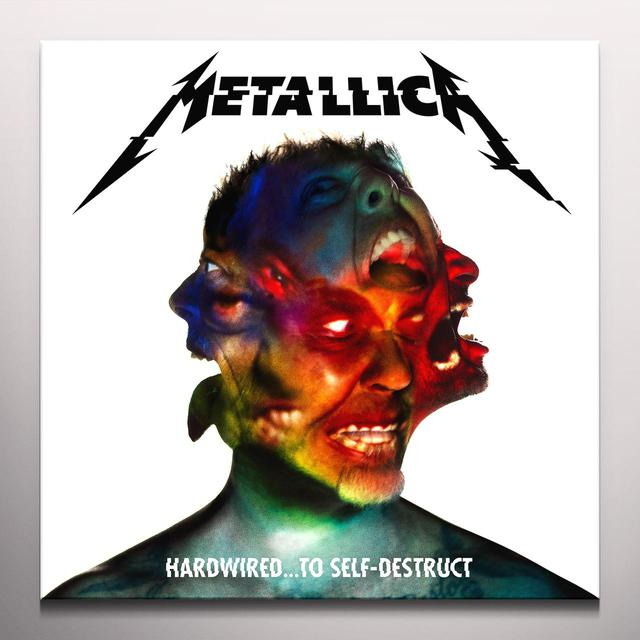 Metallica HARDWIRED: TO SELF-DESTRUCT - Limited Edition Red Colored Vinyl Record