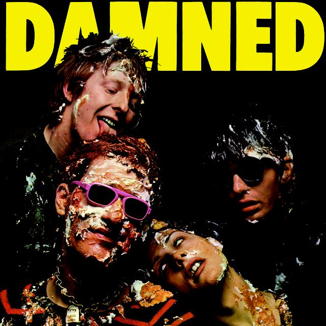 DAMNED DAMNED DAMNED Vinyl Record - Colored Vinyl, Limited Edition