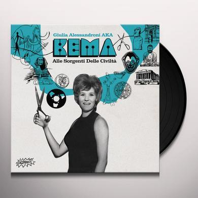 KEMA (10IN) ALLE SORGENTI DELLE CIVILTA Vinyl Record - 10 Inch Single
