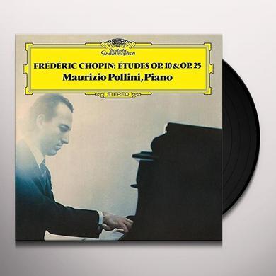 Chopin / Maurizio Pollini 24 ETUDES OP 10 & OP 25 Vinyl Record