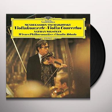 TCHAIKOVSKY / MENDELSSOHN / MILSTEIN / ABBADO VIOLIN CONCERTOS Vinyl Record