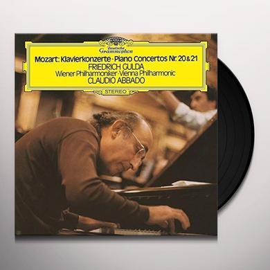 MOZART / GULDA / ABBADO / WIENER PHILHARMONIKER PIANO CONCERTOS 20 & 21 Vinyl Record