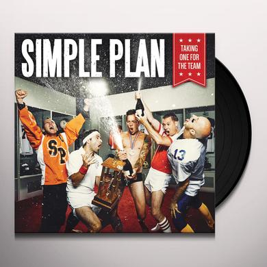 Simple Plan TAKING ONE FOR THE TEAM Vinyl Record