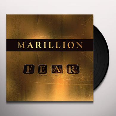 Marillion F.E.A.R. Vinyl Record - Gatefold Sleeve, 180 Gram Pressing