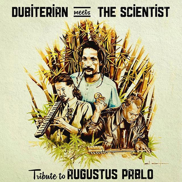 DUBITERIAN MEETS THE SCIENTIST TRIBUTE TO AUGUSTUS PABLO Vinyl Record - w/CD
