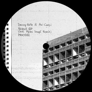 Danny Kotz / Avi Caspi REJECT (INCL. MYLES SERGE REMIX) Vinyl Record