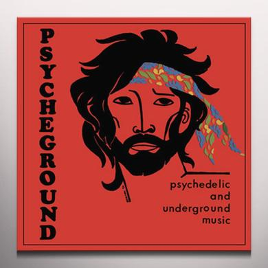 PSYCHEGROUND GROUP PSYCHEDELIC & UNDERGROUND MUSIC Vinyl Record - Colored Vinyl, Limited Edition