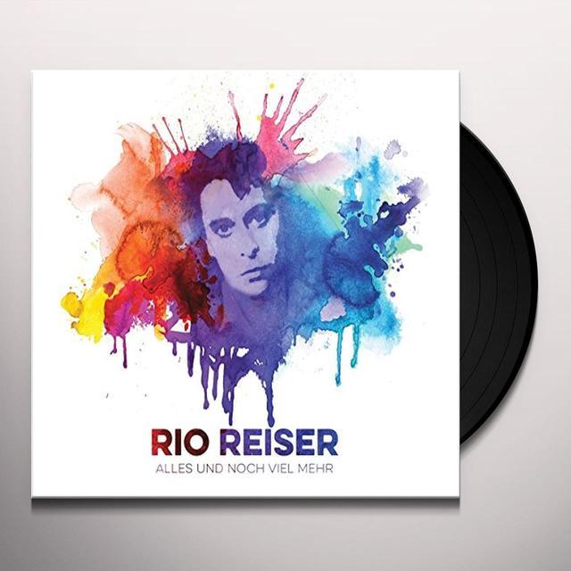 Rio Reiser ALLES UND NOCH VIEL MEHR-DAS BESTE (GER) Vinyl Record