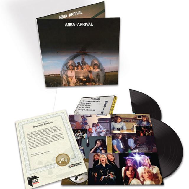 Abba ARRIVAL (HALF-SPEED MASTER) Vinyl Record - UK Import