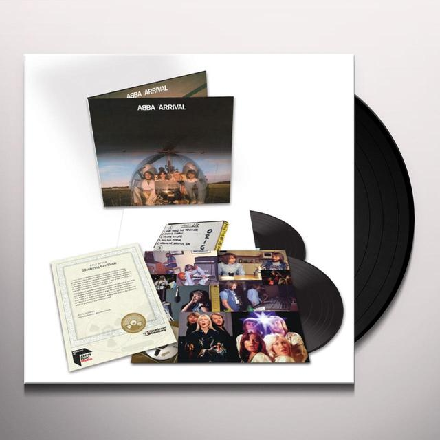 Abba ARRIVAL (HALF-SPEED MASTER) Vinyl Record - UK Import