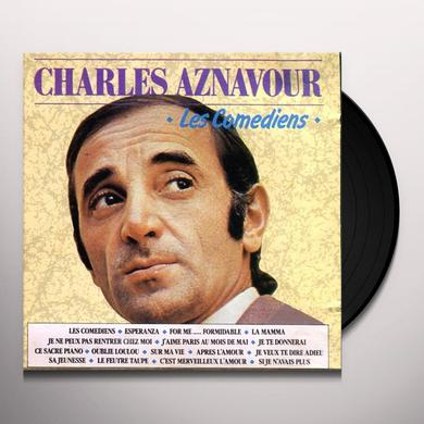 Charles Aznavour LES COMEDIENS Vinyl Record