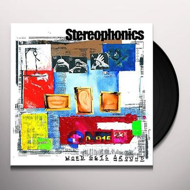 Stereophonics WORD GETS AROUND Vinyl Record - UK Import