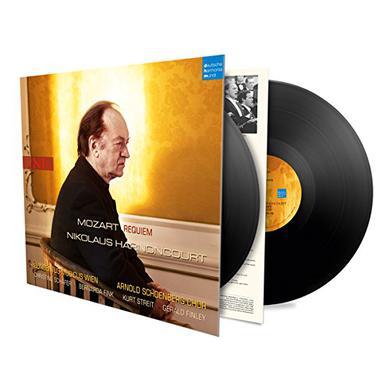 Mozart / Nikolaus Harnoncourt MOZART: REQUIEM Vinyl Record