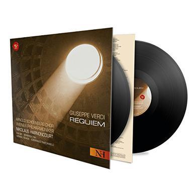 Verdi / Nikolaus Harnoncourt VERDI: REQUIEM Vinyl Record