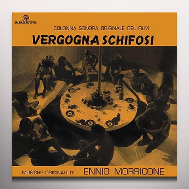 Ennio Morricone VERGOGNA SCHIFOSI / O.S.T. Vinyl Record - Gold Vinyl, Limited Edition, 180 Gram Pressing