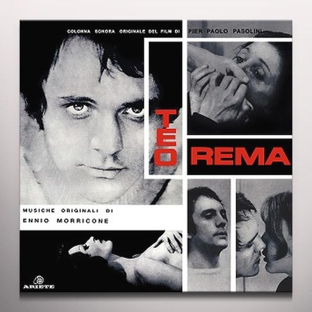Ennio Morricone TEOREMA / O.S.T. Vinyl Record - Colored Vinyl, Limited Edition, 180 Gram Pressing