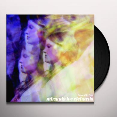 Miranda Lee Richards COLORS SO FINE Vinyl Record - Limited Edition