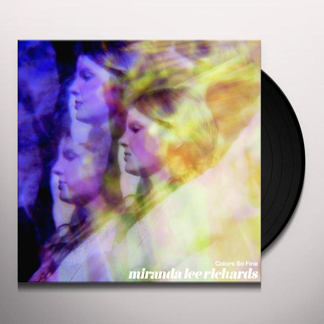 Miranda Lee Richards COLORS SO FINE Vinyl Record - Limited Edition
