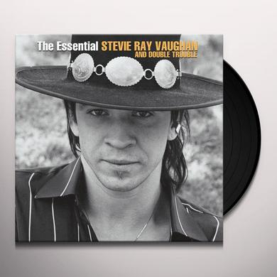 ESSENTIAL STEVIE RAY VAUGHAN & DOUBLE TROUBLE Vinyl Record