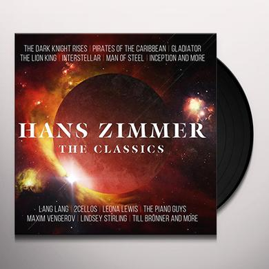 HANS ZIMMER - THE CLASSICS Vinyl Record