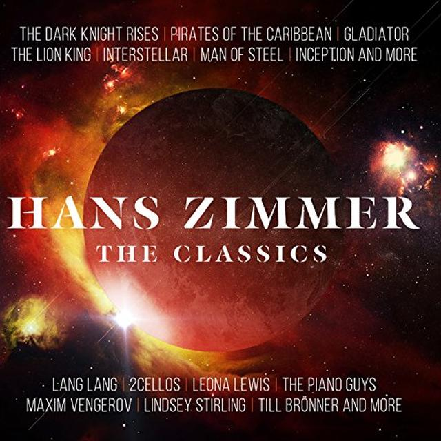HANS ZIMMER Vinyl Record - Gatefold Sleeve