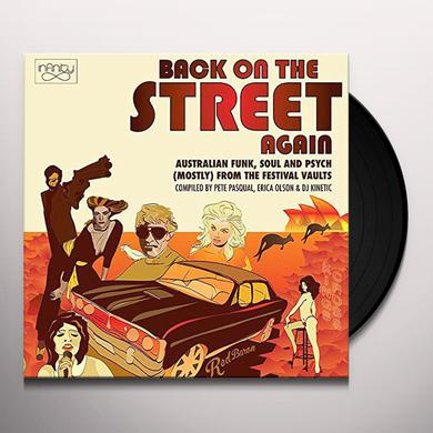 BACK ON THE STREET AGAIN: AUSTRALIAN FUNK SOUL & Vinyl Record