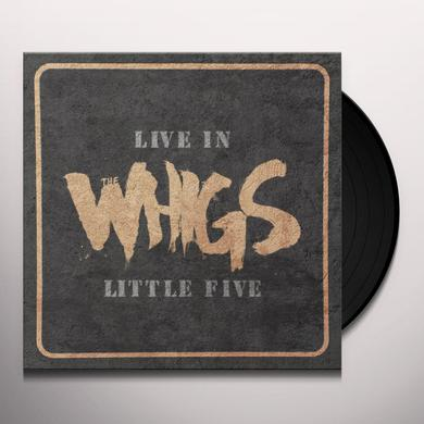 The Whigs LIVE IN LITTLE FIVE Vinyl Record - UK Import