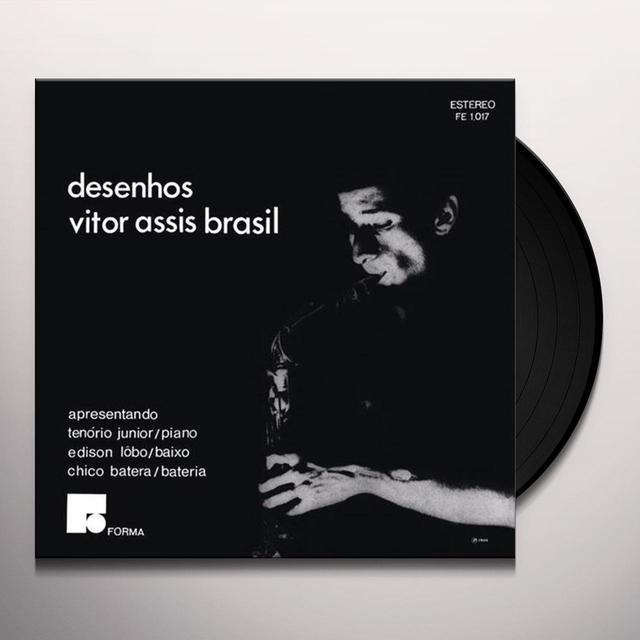 Vitor Assis Brasil DESENHOS Vinyl Record