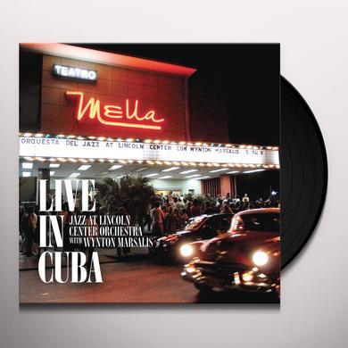 Jazz At Lincoln Center Orch / Wynton Marsalis LIVE IN CUBA (WB) (BOX) Vinyl Record