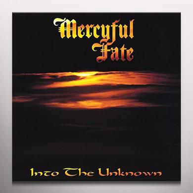 Mercyful Fate INTO THE UNKNOWN Vinyl Record - Colored Vinyl, Gold Vinyl