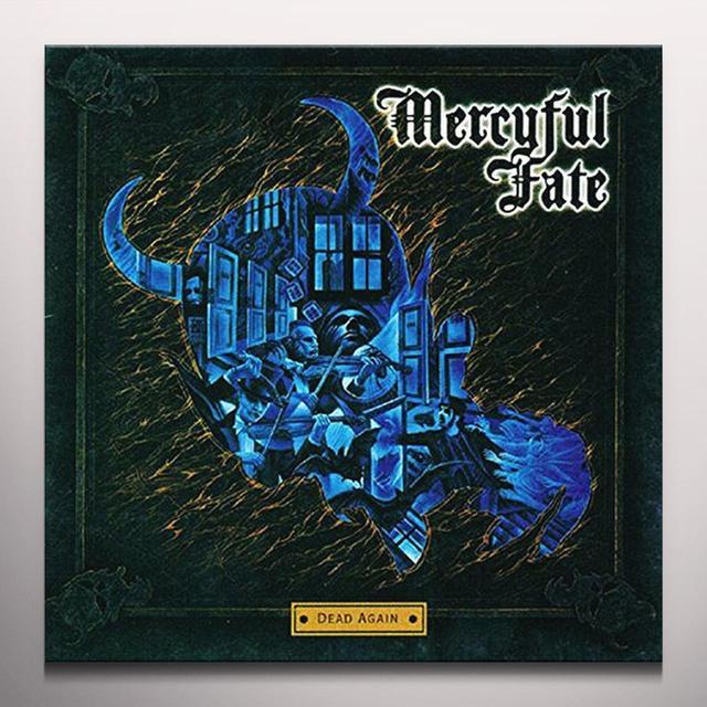 Mercyful Fate DEAD AGAIN Vinyl Record - Blue Vinyl, Colored Vinyl