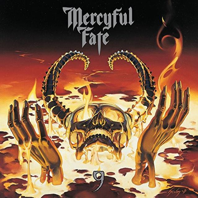 Mercyful Fate 9 Vinyl Record - Colored Vinyl, Red Vinyl