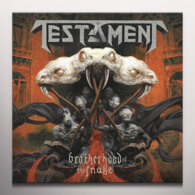 Testament BROTHERHOOD OF THE SNAKE Vinyl Record - Black Vinyl, Colored Vinyl, Gatefold Sleeve