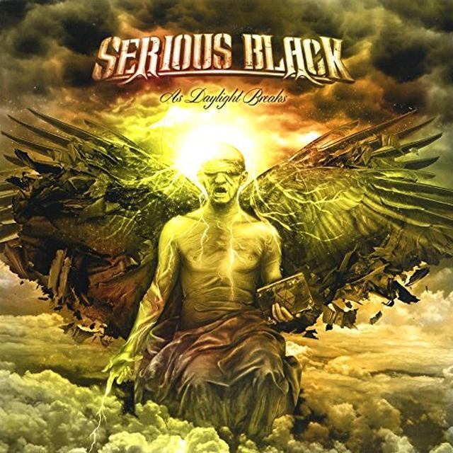Serious Black AS DAYLIGHT BREAKS Vinyl Record