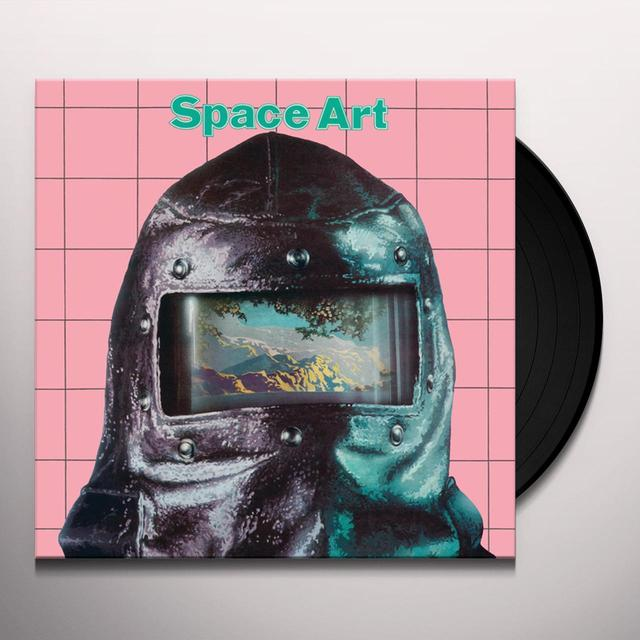 Space Art TRIP IN THE CENTER HEAD Vinyl Record - w/CD