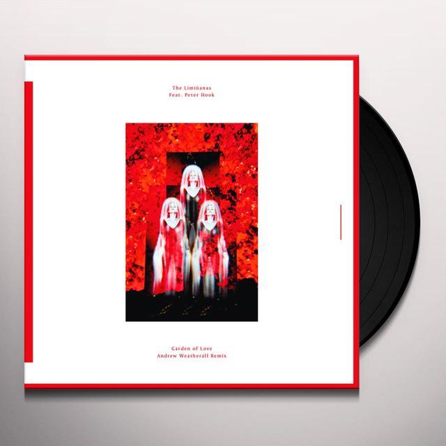 Liminanas GARDEN OF LOVE (ANDREW WEATHERALL REMIX) Vinyl Record