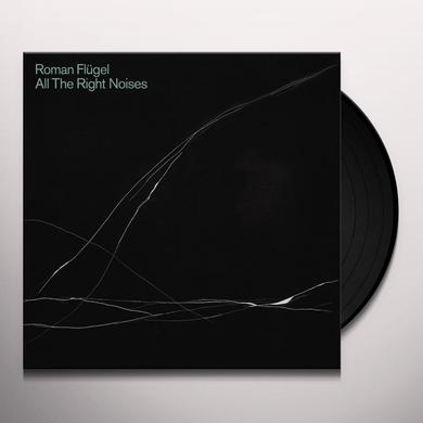 Roman Flügel ALL THE RIGHT NOISES Vinyl Record