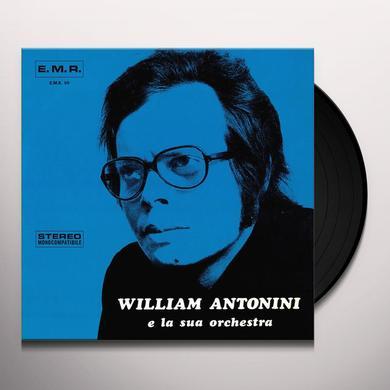 William E La Orchestra Sua WILLIAM ANTONINI E LA SUA ORCHESTRA Vinyl Record
