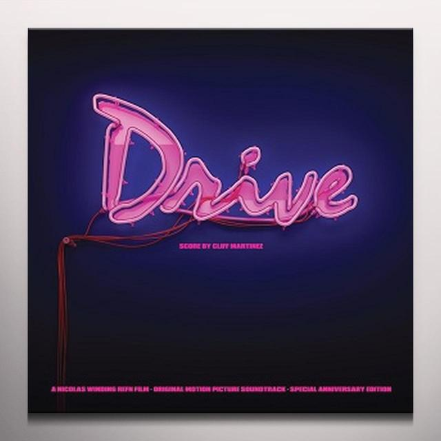 Cliff Martinez DRIVE / O.S.T. Vinyl Record - Colored Vinyl, Gatefold Sleeve, Pink Vinyl, Deluxe Edition